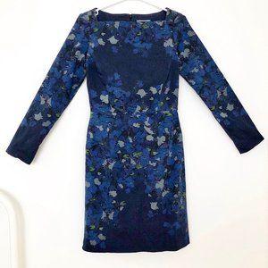 Stunning Erdem Printed Long Sleeve Sheath Dress 6